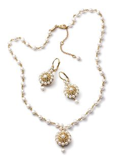 Gold filigree jewelry with black gemstones - D&G Jewellery | Jewellery Dolce&Gabbana