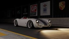 Porsche 550 Spyder am making replica first year c1 corvette and throwing ZR1 wheels with a LS2 engine Dreams bowtie love am making DODGe retro racer for future sales drive that in future am done back to other job!
