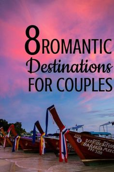8 Romantic Travel De