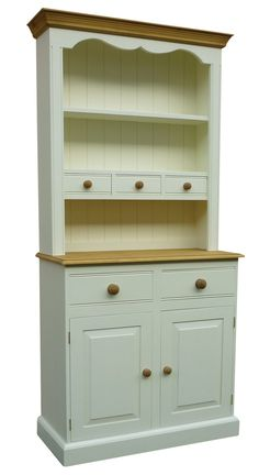 Traditional Kitchen Dresser with Spice Drawers in top