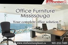 Office Furniture Mississauga Make your office room look different from others. Get modern furniture from Ritz Furniture Planet Ltd. contact @ 289-521-7489. visit at: http://www.ritzfurnitureplanet.ca/ #OfficeFurnitureMississauga #ModernFurnitureMississauga #FurnitureStoresMississauga #RitzFurnitureMississauga #modernfurniture
