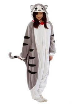Kigurumi Tabby Cat Adult Animal Pyjamas / Fancy Dress Costume, $59.99