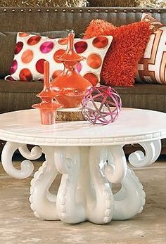 octopus coffee table | salon | pinterest | awesome, my heart and