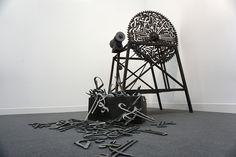 """""""The Paradox"""" Mounir Fatmi at Marian Goodman Gallery. #FriezeLondon2015 #Frieze #FriezeArtFair #London #FeriaArte #ArtFair #ArteContemporáneo #ContemporariArt #Art #Arte #Arterecord 2015 https://twitter.com/arterecord"""