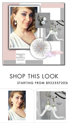 """""""earrings"""" by katena-net on Polyvore featuring мода"""