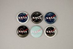 1 NASA buttons by astropuke on Etsy