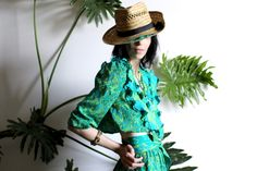 A personal favorite from my Etsy shop https://www.etsy.com/listing/477307934/southern-jungle-resort-two-piece
