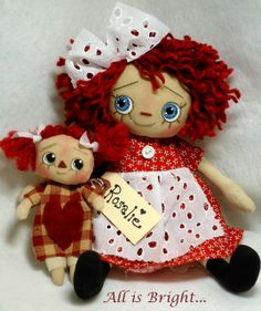 """""""all is bright crafts"""" dolls"""
