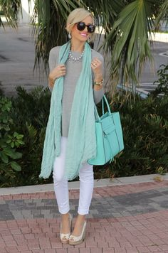 A Spoonful of Style: Grey and Mint...