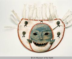 Nepcetaq Mask, Old Hamilton, Alaska. UA Museum of the North. #UA2002-010-0005