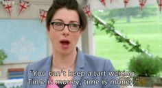 "When Sue said this. | 19 Times Mel And Sue Were The Best Part Of ""The Great British Bake Off"""