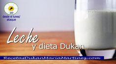 Leche dieta Dukan: leche desnatada