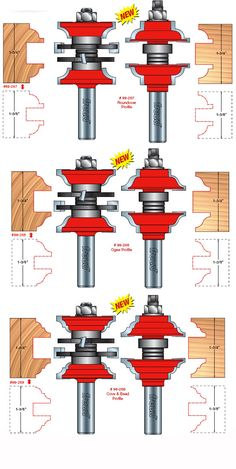 Freud Tools - Two Piece Entry & Interior Door Router Bit Set