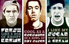 Three MCs and one DJ. Beastie Boys, y'all!
