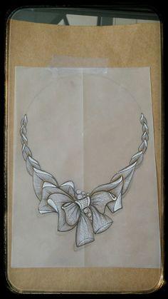 Jewellery design,sketches