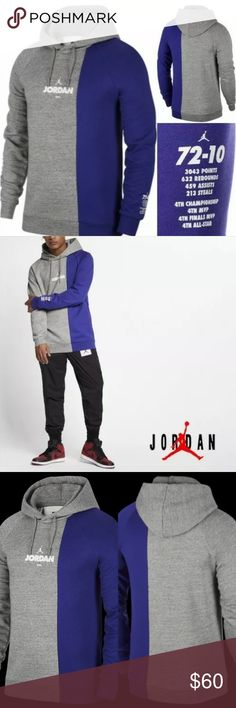 nike jordan hoodie schwarz weiß colorblocking