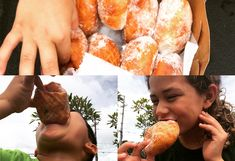 """Malasadas are one of the """"must-have"""" local foods of Hawaii so make sure you try one when visiting Oahu. Try our easy kid-friendly malasada recipe! Easy Malasadas Recipe, Malasadas Recipe Portuguese, Portuguese Recipes, Appetizer Recipes, Dessert Recipes, Desserts, Appetizers, Kids Meals, Easy Meals"""