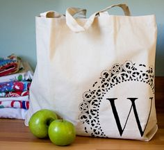 13 Easy DIY Gifts for Teachers  Teacher Tote  Would be great gifts for non-teachers also.