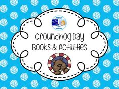 Groundhog Day Books and Activities Pinterest Board