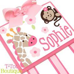 NEW DESIGN  Custom Handpainted Boutique Childrens by TTotBoutique, $56.95
