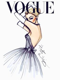 What a gorgeous illustration. This absolutely belongs on a modern cover of Vogue. What a gorgeous illustration. This absolutely belongs on a modern cover of Vogue. Hayden Williams, Vogue Fashion, Fashion Art, Trendy Fashion, Fashion Poses, High Fashion, Fashion Painting, Fashion Dresses, Fashion Editorials