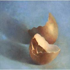 Perfectly Broken : oil painting still life