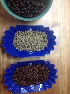 Beggining with Roasting Naturals.  Crop 2015