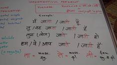 Invata HINDI singur! Lectia 4 - gramatica - prezentul simplu (imperfecti... Math, Blog, Math Resources, Blogging, Mathematics