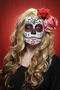 dia de los muertos face painting | Recent Photos The Commons Getty Collection Galleries World Map App ...