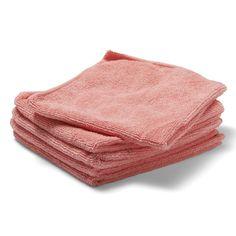 Brighton Professional Strikket rengjøringsklut av mikrofibre, rosa, 350x380mm | Staples® Towel, Towels