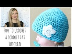 How to Crochet a Toddler Hat - YouTube