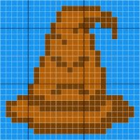 Sorting Hat - Stitch Fiddle