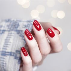 Get your clients ready to take on the world with this bright shiny red nail polish by. Bright Red Nails, Red Nail Polish, Nails At Home, Christmas Nail Art, Red Apple, Toe Nails, Acrylic Nails, Feet Nails, Toenails