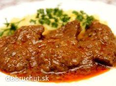 Hovädzie mäso v marináde - Hovädzie mäso pripravujem sporadicky, skúsila som tento recept a mäsko je vynikajúce.