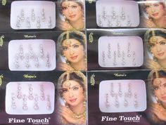 Amazon.com : 14 Bindis 2 Packs Of Silver Long Face Jewels Bollywood Bindis/Indian India Bindis/Bindi Sticker/Bindi Jewels/Face Jewels/Fancy Bindi Online/Silver bindi : Everything Else