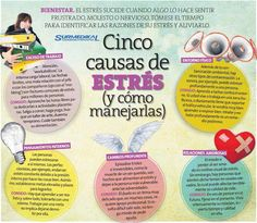 No al Estrés..   GACETA IEEPO Health And Wellbeing, Health And Nutrition, Health Fitness, Mental Health, Stress Less, Stress Free, Stress Relief, Therapy Activities, Emotional Intelligence