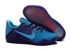 separation shoes 1db45 ac75b Cheap Nike Kobe 11 Shoes Purple Blue Basketball Uniforms, Basketball Shorts  Girls, Basketball Jersey