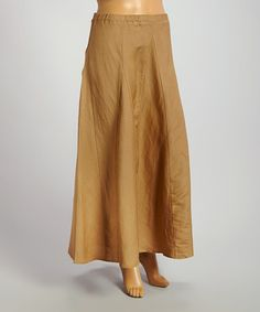 Look what I found on #zulily! Iced Cocoa A-Line Maxi Skirt - Plus #zulilyfinds