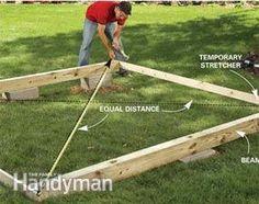 Backyard Decks: Build an Island Deck   The Family Handyman