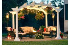These outdoor finds will help you create a fall-ready hangout in a flash. Woven seating groups and firepits are perfect for cozy gatherings, while bronzed floor lamps and hanging lanterns light up the night. All-weather  rugs act as a warm layer between your feet and the floor.http://www.wayfair.com/daily-sales/Fall-Ready-Patio-Refresh~E13369.html?refid=SBP.rBAZEVQQgfhNq30QpnVlAmGh9jtkRkJkmDB1zK_sZMY