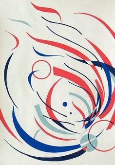 平面構成「花」をモチーフに構成/B3サイズ Art And Illustration, Illustrations And Posters, Plant Painting, Silk Painting, Generative Kunst, Design Art, Graphic Design, Composition Design, Japan Design