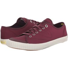 Tretorn Tournament Mesh (Burgundy) Women's Lace up casual Shoes (64 CAD) ❤