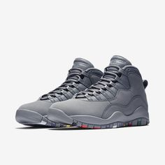 Nike Air Jordan 10 Cool Grey  310805-022  fashion  clothing  shoes 5fadc47ec