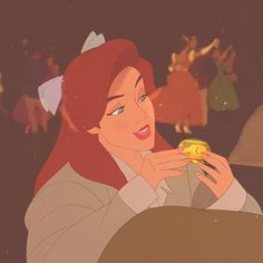 A jewelry box...? Are you sure that's what it is?.... lol this summer my friends came over and relived our disney vcr tape experiences.... anastasia was one of them <3