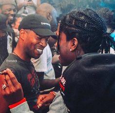 Kid Cudi and A$AP Rocky