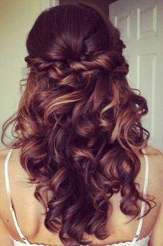 Hair Ideas for Bridesmaids