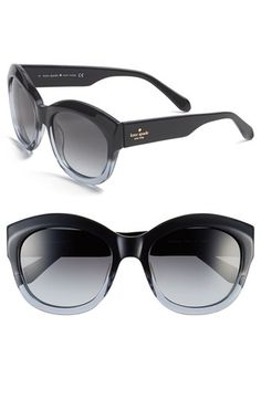 38a32a408957 kate spade new york  arianna  55m retro sunglasses   Nordstrom