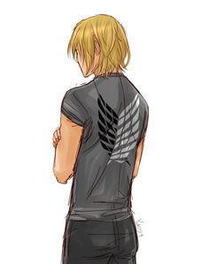 Armin Arlert - from the front he's just ADORABLE, but from behind he's kinda of... Yummy. *clears throat*