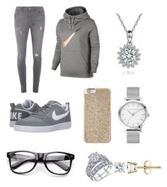 """Birthday outfit"" by queenbeauty04 on Polyvore featuring NIKE, Dorothy Perkins and Michael Kors"