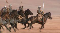Montgisard fu il trionfo del re Baldovino IV, che con soli 500 cavalieri e poche migliaia di unità di fanteria, a cui si aggiunsero all'ultimo momento 80 cavalieri Templari, affrontò lo sterminato esercito di più di 20 mila soldati del sultano Saladino.